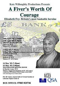 A Fiver's Worth of Courage - flyer