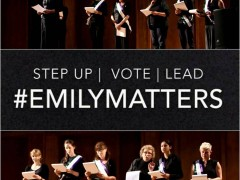 #Emilymatters – And the winner is …