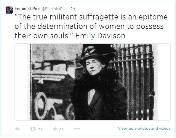 FeministPics_true Militant quote_04June14